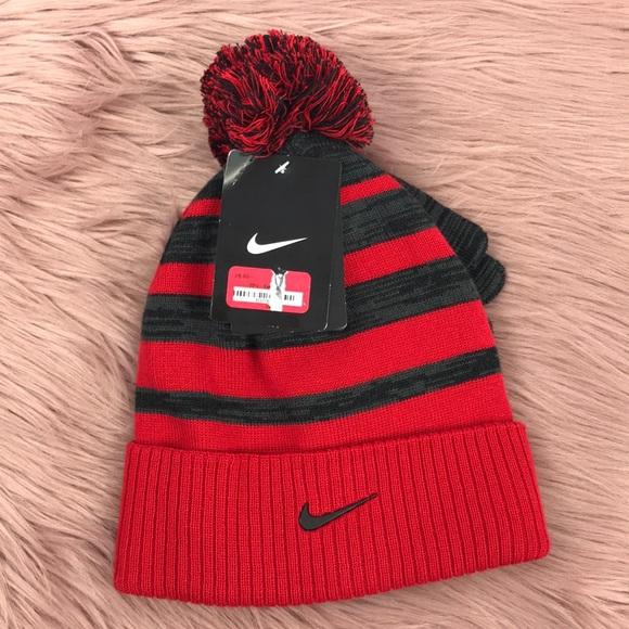 b8004290a5d Nike Kids Striped Beanie Gloves - 2 Piece Set